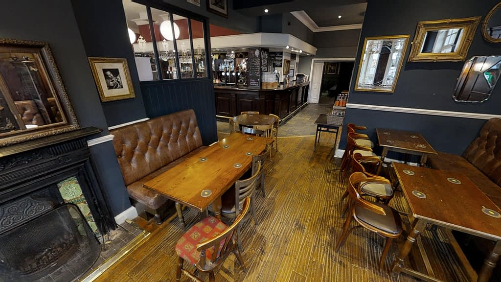 Images created for the Greystones Pub from the virtual tour