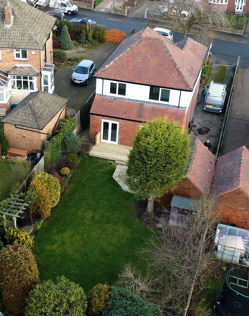 Drone photography for estate agents